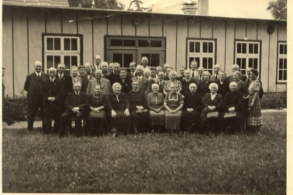 1951: Ehrungen von Reichsbundmitgliedern aus dem 1. Weltkrieg